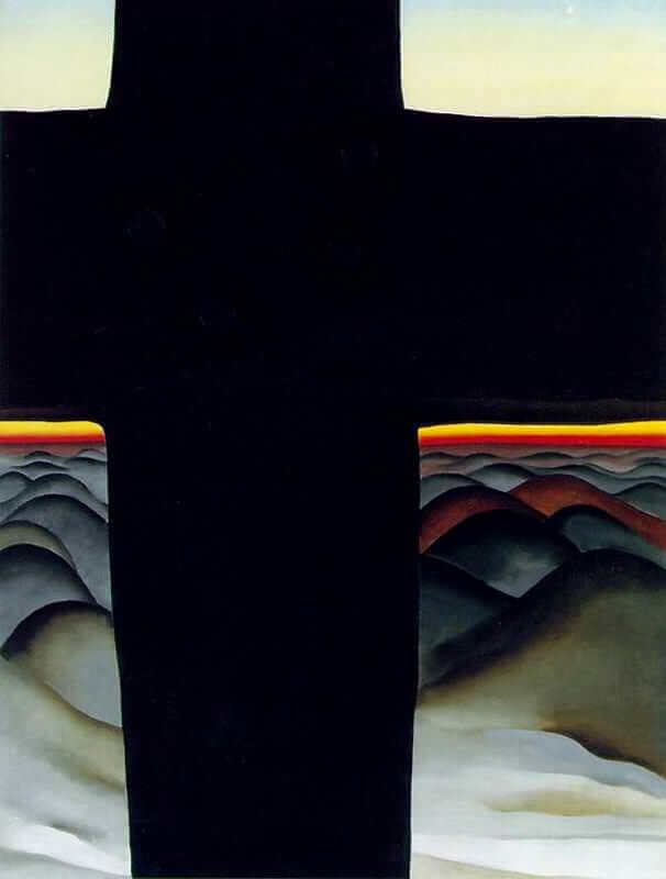 Black Cross, 1929 by Georgia O'Keeffe