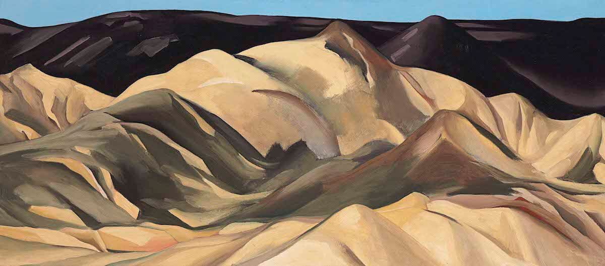 Near Abiquiu,New Mexico by Georgia O'Keeffe